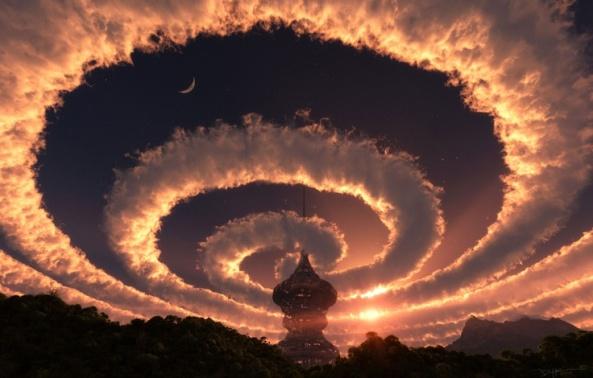 Amazing Sky spiral
