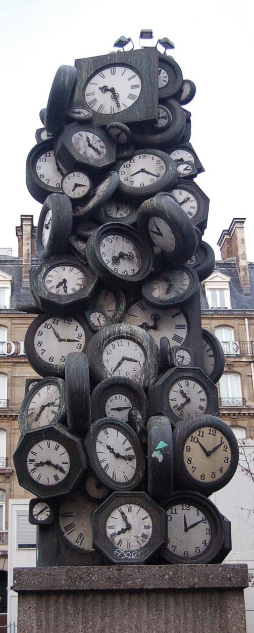 Clock Tower, Paris