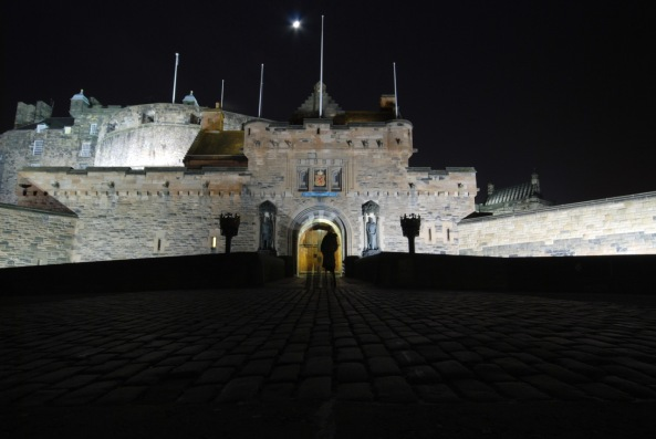 Edinburgh Castle Ghost