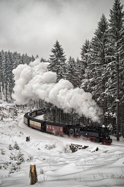 Ice Train, Black Forest, Germany