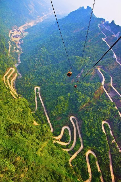 Mount Tianmen, China