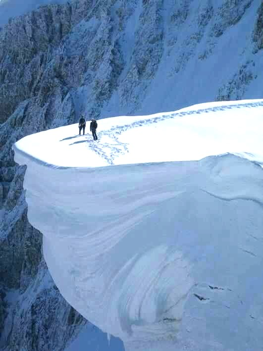 On the Edge - Mont Blanc, France