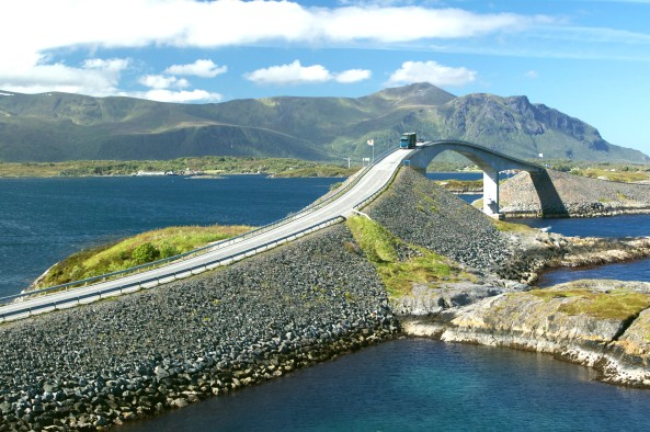The Atlantic Road More og Romsdal Norway