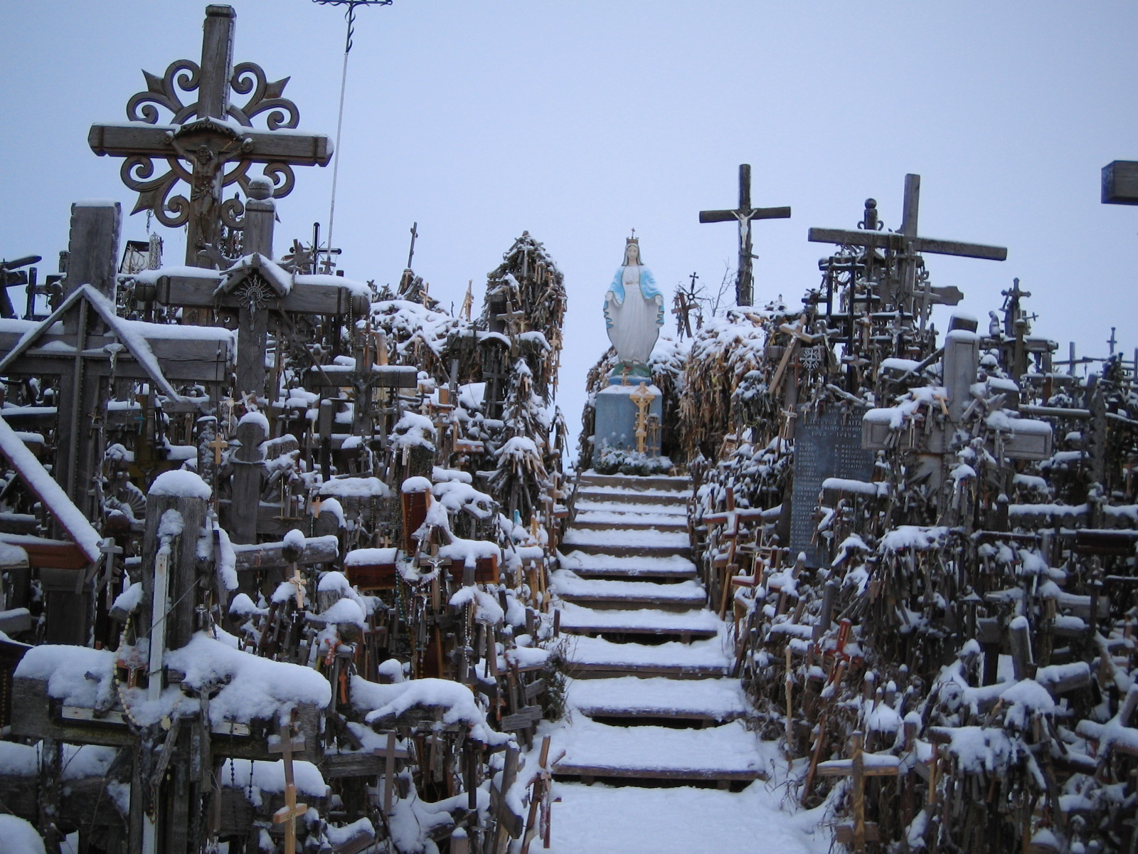 Hill of Crosses Haunted Haunting Hill of Crosses