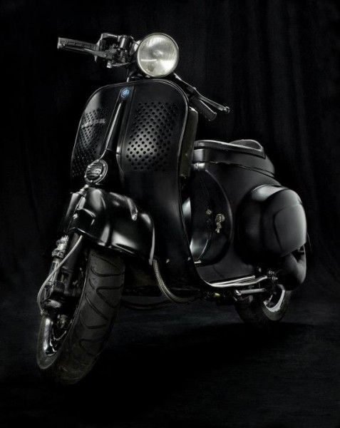 Black Ninja Scooter