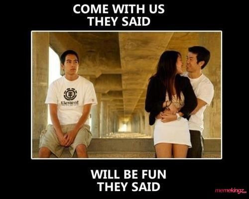 Come With Us They Said..LOL