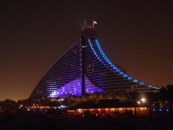 Expensive hotel Jumeirah Beach Hotel, Dubaia