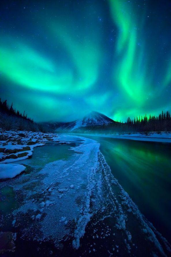 Ogilvie Mountains, Yukon Territory, Canada