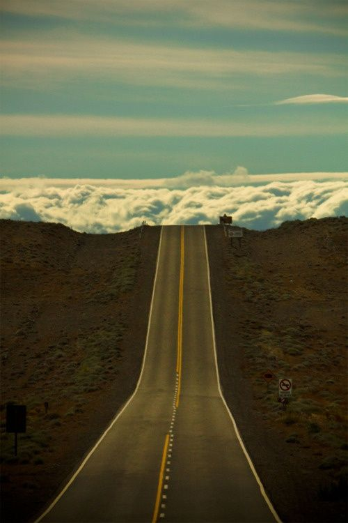 Road to the clouds, Patagonia Argentina