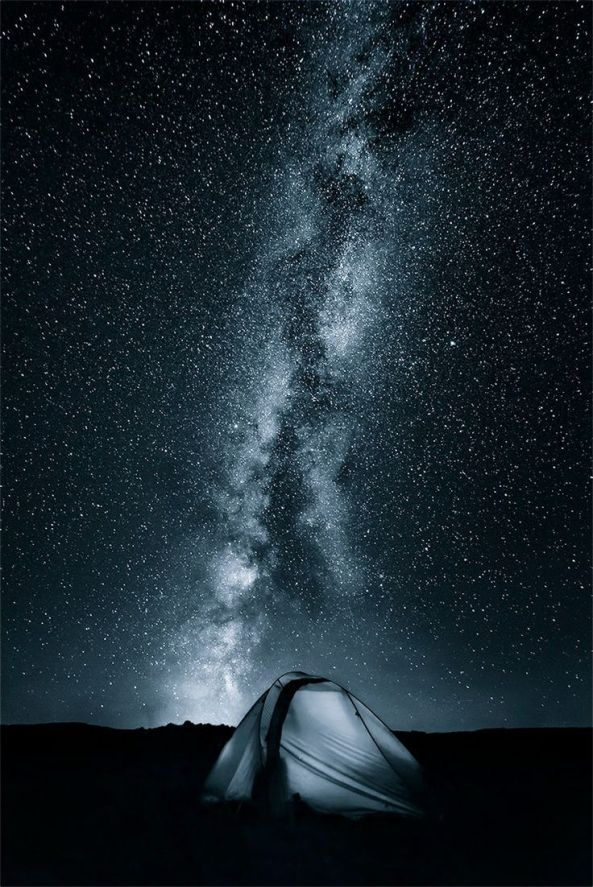 Sleeping under the Milkyway