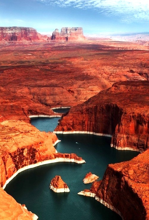 Mindblowing  view of Lake Powell, Utah