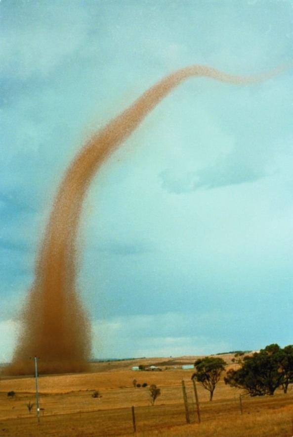 Tornado, Northam, western Australia