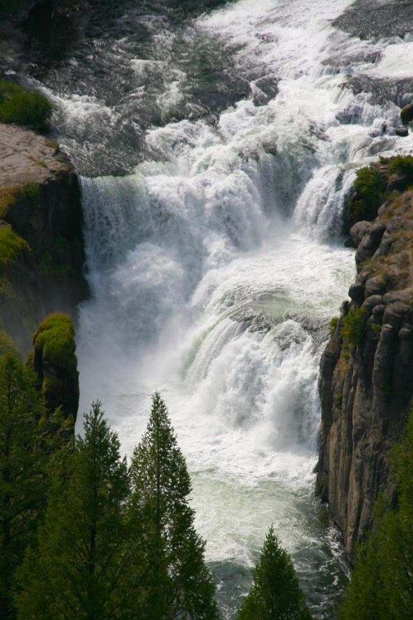 Lower Mesa Falls, Wyoming