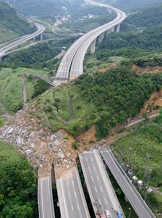 One of the World's Biggest Landslide