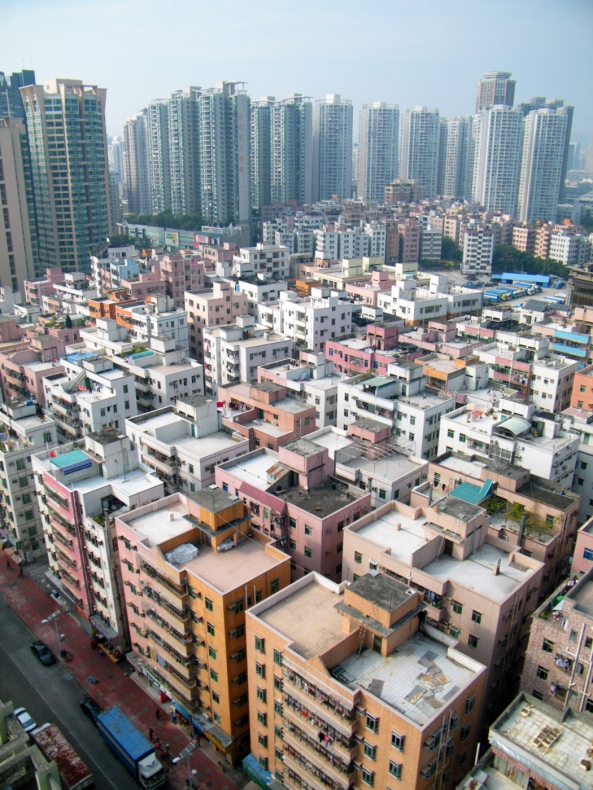 Urban Village, Shenzhen, China