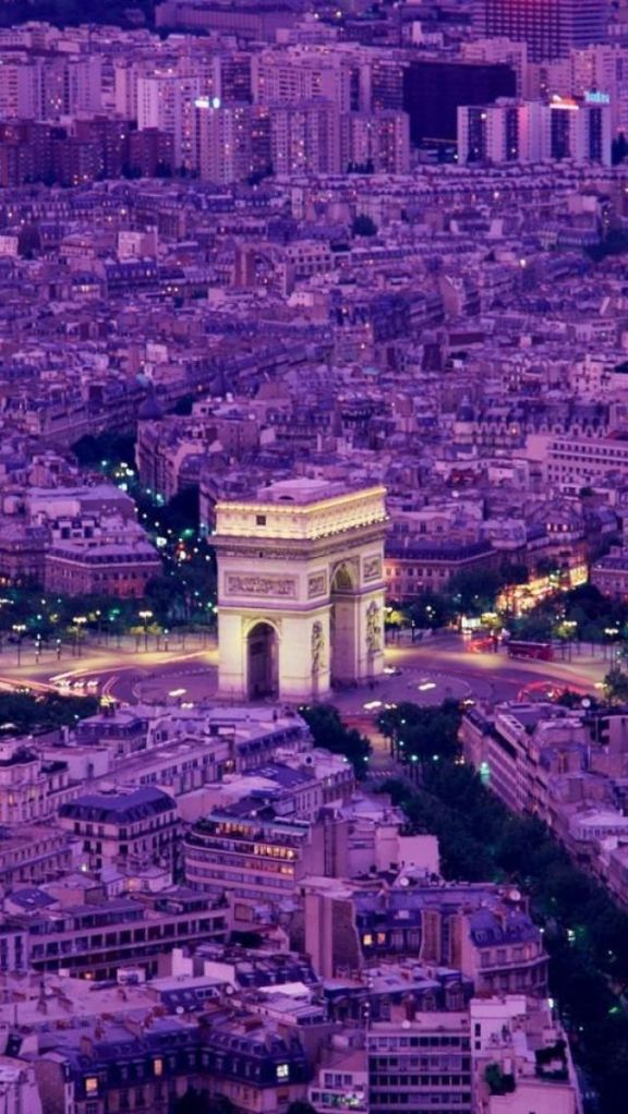 Arc De Triomph, Paris, France