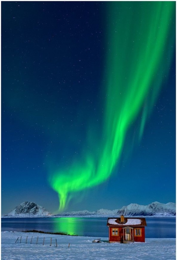Aurora Smoke, Lofoten, Norway