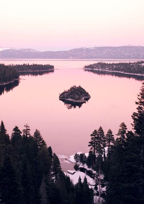 Emerald Bay on Lake Tahoe
