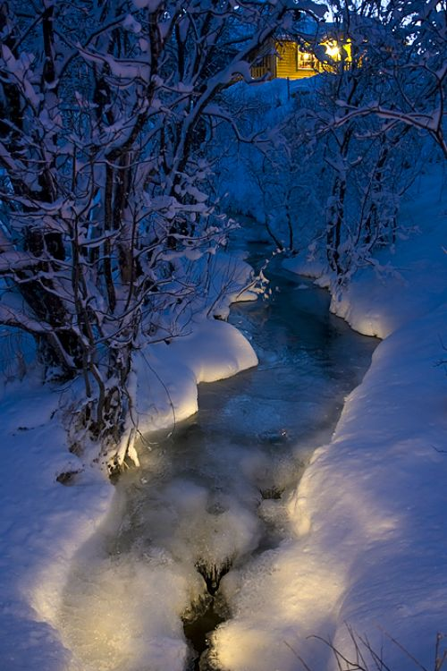 Magical River, Troms, Norway