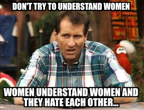Don't try to understand women
