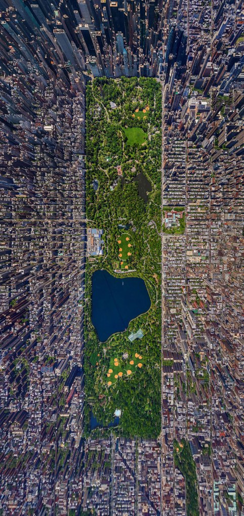 birds eye photography New York