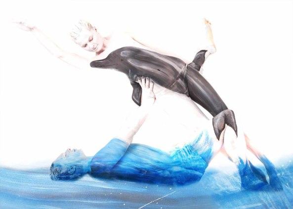 Dolphin by gesine marwedel